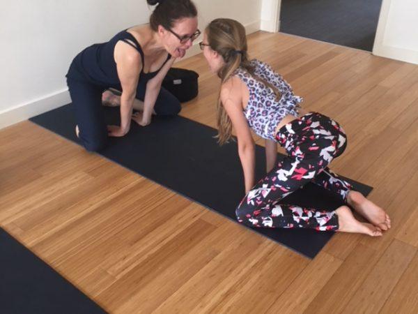 Yoga met je tiener